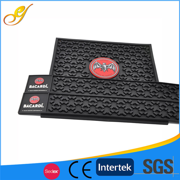 Custom OEM Branded Eco-Friendly Silicone Rubber Mat