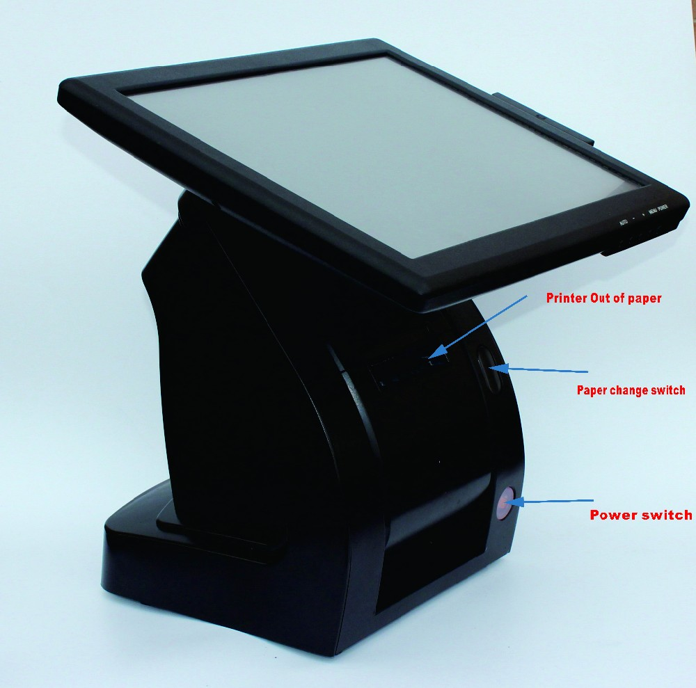 Hot all in one pos terminal pos machine With 80MM Thermal printer