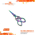 B4165 Super Design and Practical Stainless Steel Beauty Scissors with Colorful Titanium Plated