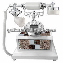 Luxury fashion high quality resin telephone for Interior factory