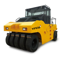 Top Quality Hydraulic road roller compactor with rubber tires