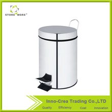 STORE MORE Morden Indoor Round Custom Plastic Waste Bin