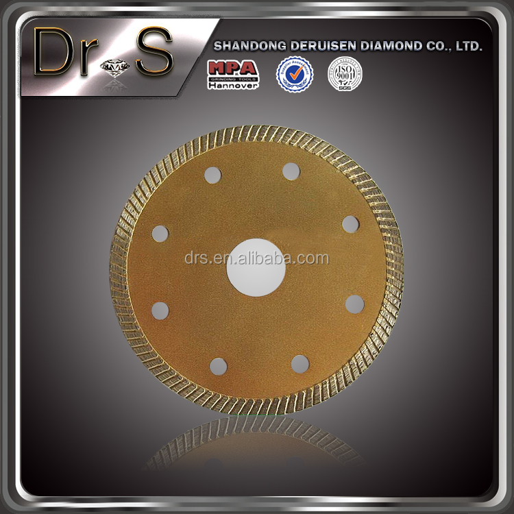 diamond saw blade for glass ceramics or floor tile sharp cutting