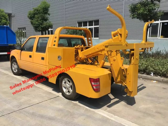 JMC Pickup 2Tons Towing Truck Wrecker Truck 109HP Hot Sales