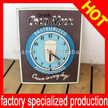 2013 new Advertising clock sign
