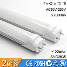 3014SMD chip t5 led tube light 120 degree 1200mm t5 fluorescent tube lamp long life span