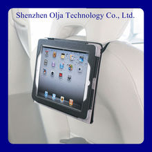 2014 very popular vehicle-mounted pu leather universal tablet case ,flexo stand for ipad case