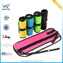 OEM Folding Drawing Pencil Case, Roll Up pencil bag custom design BSCI audit Sedex factory
