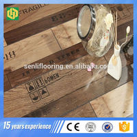 waterproof mhdf v groove laminate flooring low price