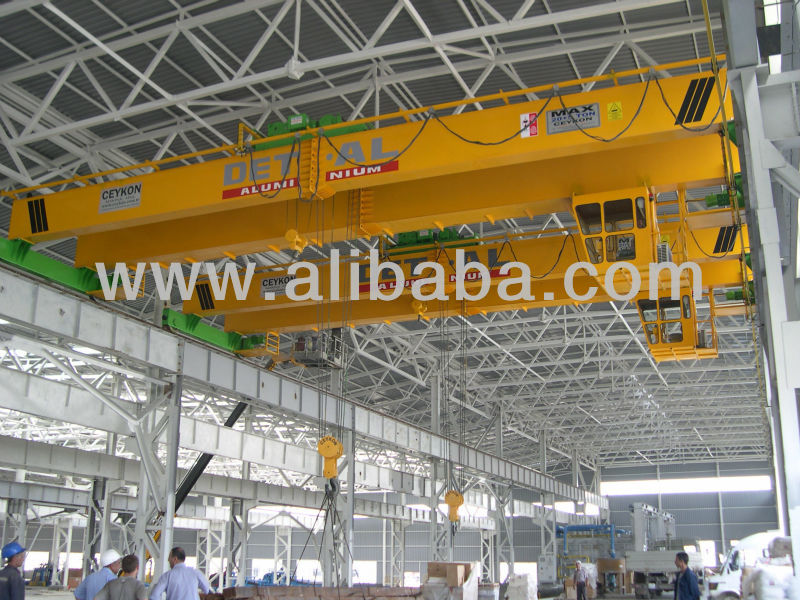 20+5 ton overhead crane with cabin control