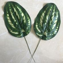Wholesale garden decoration let eyes relax green leaf ornament