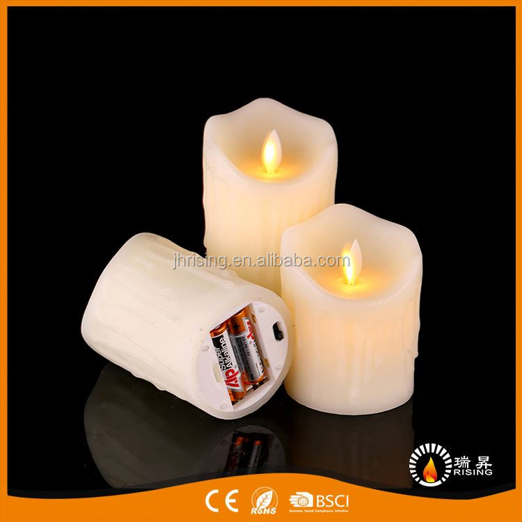 Best selling fine quality church led candles from manufacturer