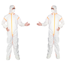 Safety Equipment Disposable Taped With Strip Microporous Disposable Coverall
