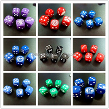 Wholesale Plastic Customized Printed /Engraved Dice