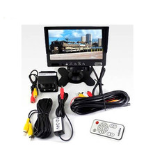 2 AV inputs 7 inches tft lcd color tv monitor cctv test monitor