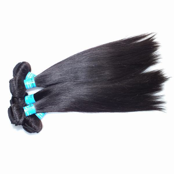 Original Peruvian Straight Hair 18 Inch 4 Pieces Lot Wholesale Milky Way Hair