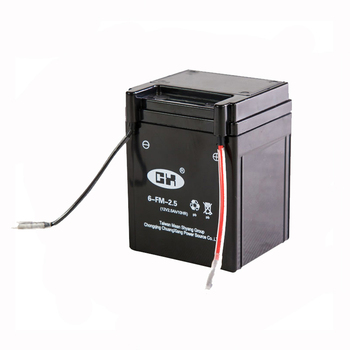 Competitive Prices 12V 2.5Ah Motorcycle Battery In Pakistan