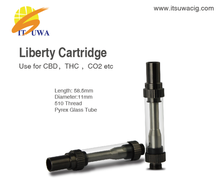 0.5ml 1ml amigo liberty cbd oil cartridge with vaporizer plastic packing