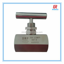 gas valve stem gate valve high pressure needle valves