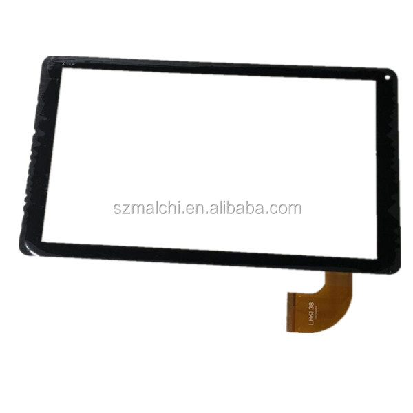 10.1 inch LH6138 <strong>101</strong>- 82V01 capacitive touch screen panel Digitizer Glass sensor for Xview proton Sapphire tablet PC