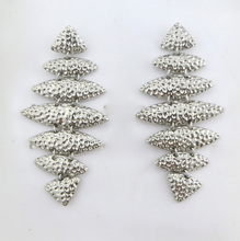 2015 hot sales custom jadau metal earrings