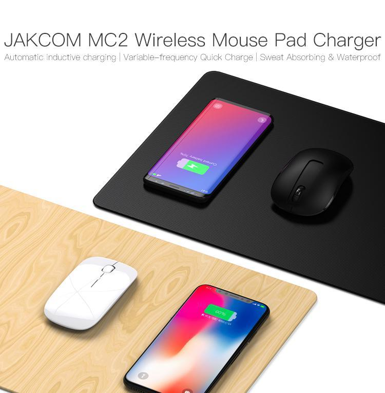 JAKCOM MC2 Wireless Mouse Pad Charger New Product of Mouse Pads like fitness tracker baikal giant x10 cell phone