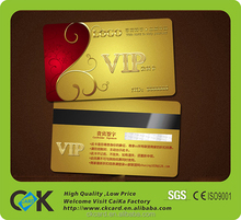 Custom high quality magnetic stripe loyalty card with serial number