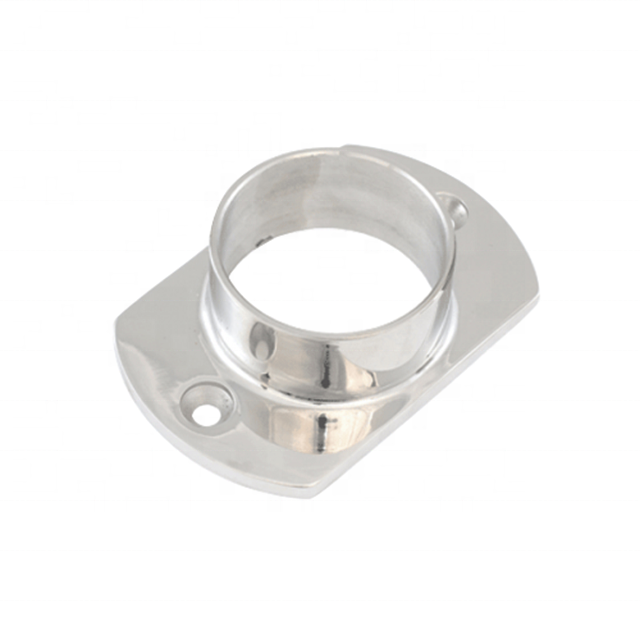 Investment casting stainless steel base flange building <strong>hardware</strong>