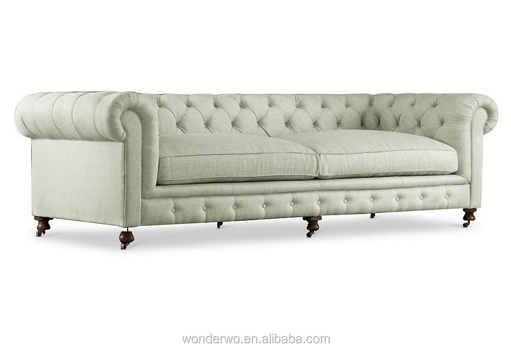 Hamptons 84 linge chesterfield c ladon salon canap tuft meubles autre - Salon chesterfield occasion ...