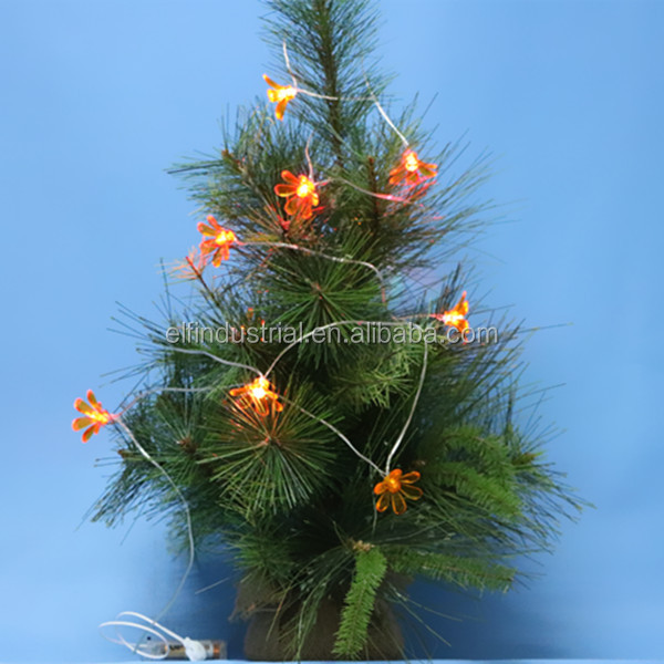 Indoor christmas decoration artificial plants small christmas tree