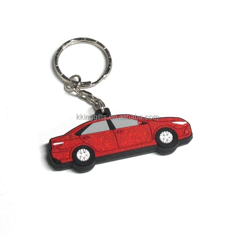 Ideal gift airplane shaped car plate shaped key chain