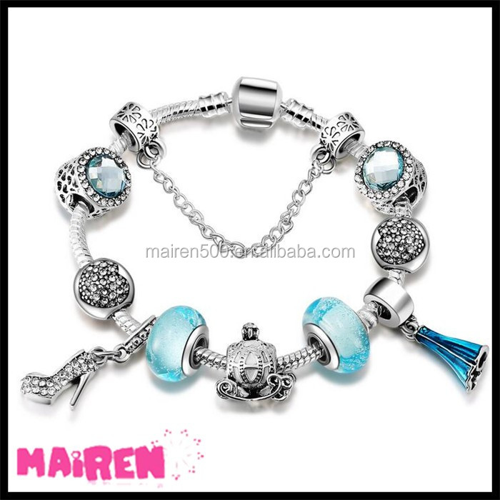wholesale European beads MOM mother Love heart bracelet charms 925 sterling silver