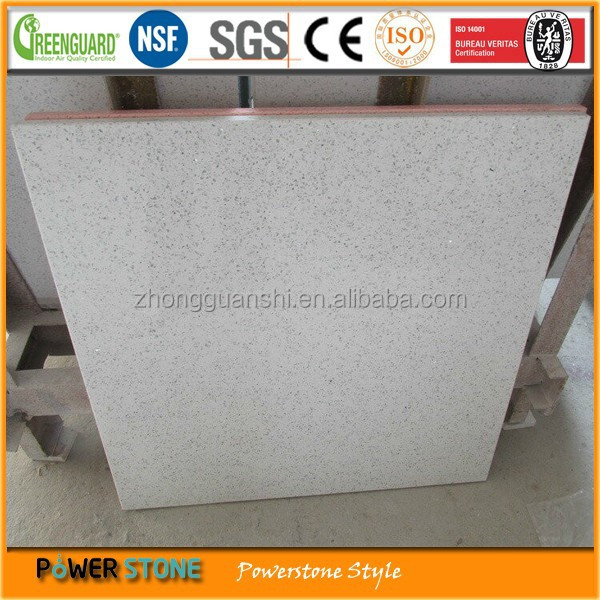 white engineered quartz stone for wall cladding tiles
