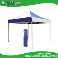 40MM 2mm thickness OUTDOOR HEAVY DUTY ALUMINUM FOLDING TENT/BEACH GAZEBO CANOPY TENT / FOLDING CANOPY TENT