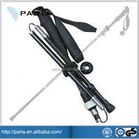 Factory price Adjustable Lightweight carbon fiber hiking pole, carbon fiber walking stick, fiberglass pole