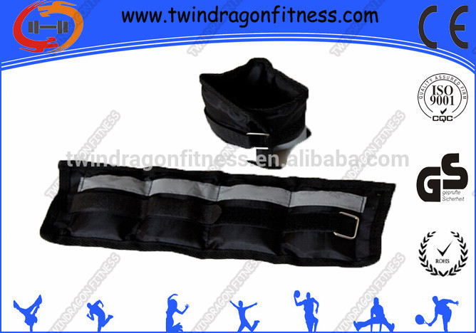 Exercise neoprene fitness adjustable wrist and ankle weights