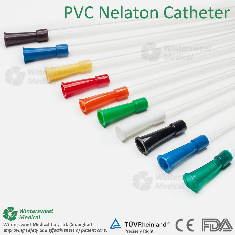 Sterile urinary catheterization nelaton catheter