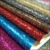 free samples shimmering wholesale leather vinyl fabric grade 3 glitter fabric wallpaper