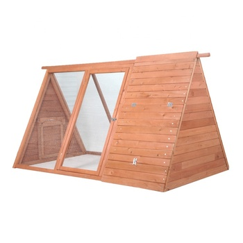 Professional made waterproof eco-friendly triangle small chicken house hen coop