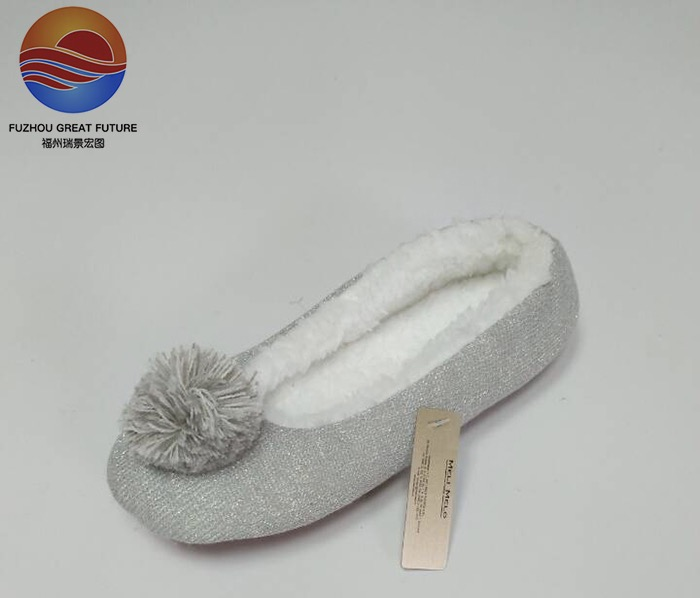 New Winter Style Fashion Classic Indoor Ballerina Shoes for Girls