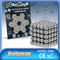 216pcs 5mm N42 Neodymium Magnetic Balls Spheres Beads Magic Cube Magnets Puzzle Birthday Prese