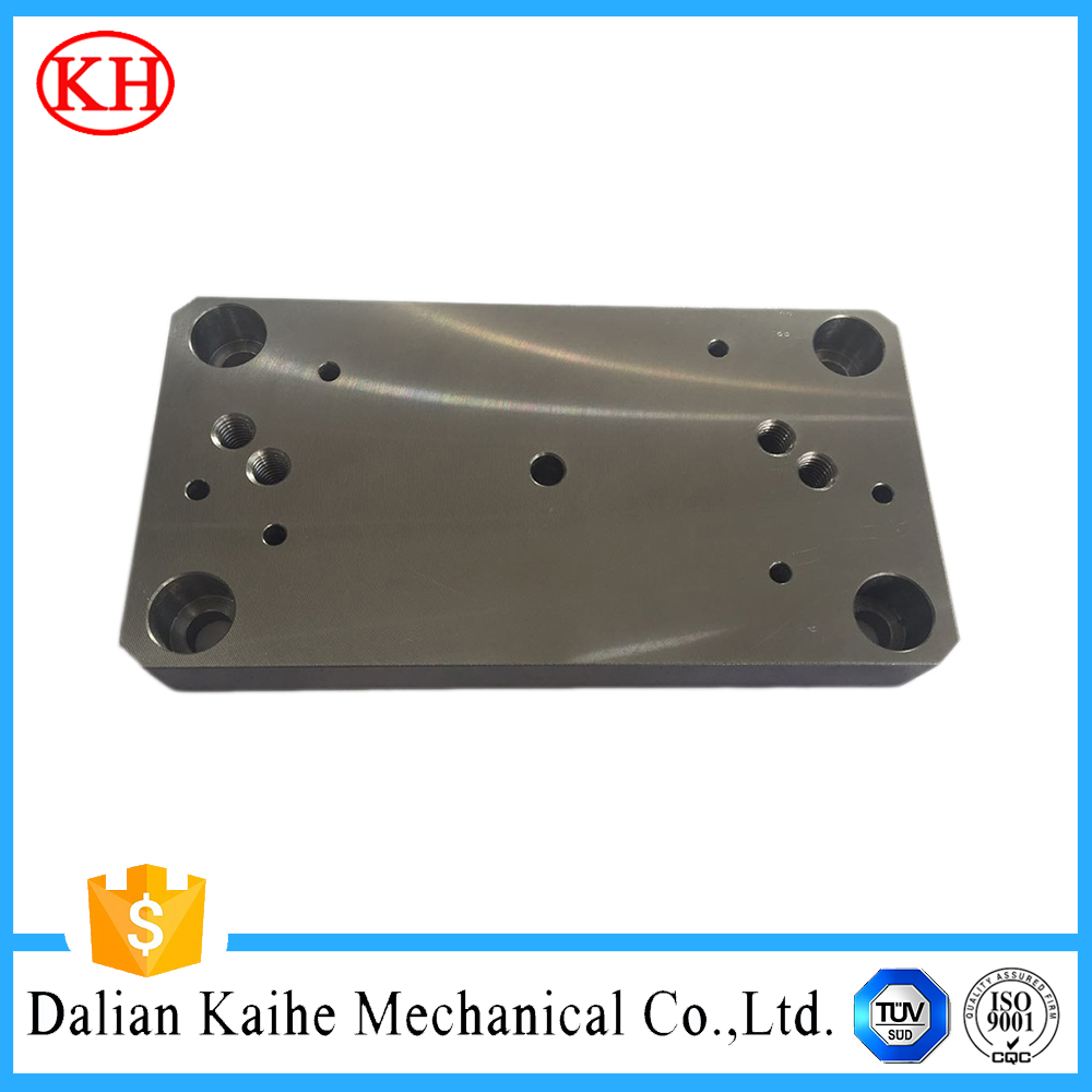 airplane part precision milling aluminum plate orifice cnc cutting agricultural components