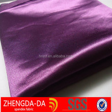 Polyester stretch satin fabric, dull satin,elastic satin fabric