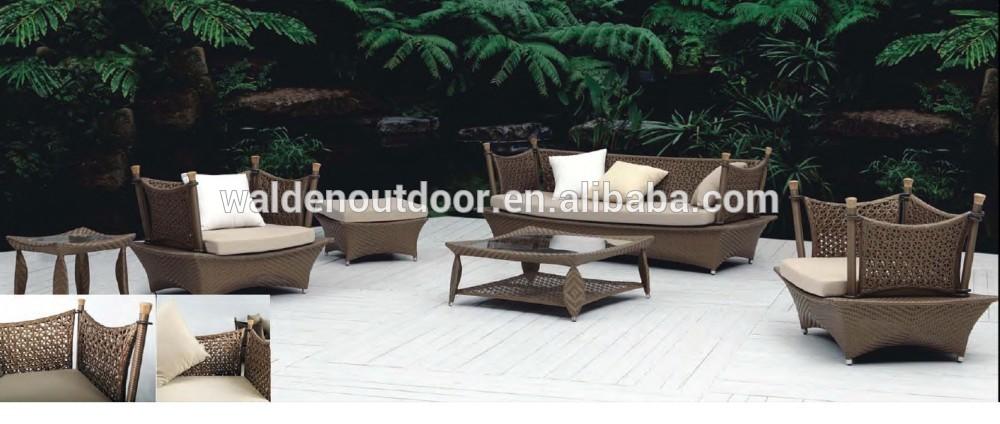 Salotti in rattan da giardino sedie da esterno in rattan for Costruzione della casa a buon mercato