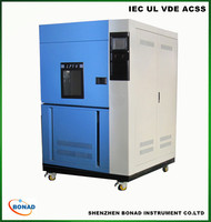 lab test equipment xenon arc lamp aging test chamber for plastic material test
