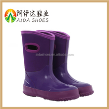 Transparent clear children rubber boots wholesale