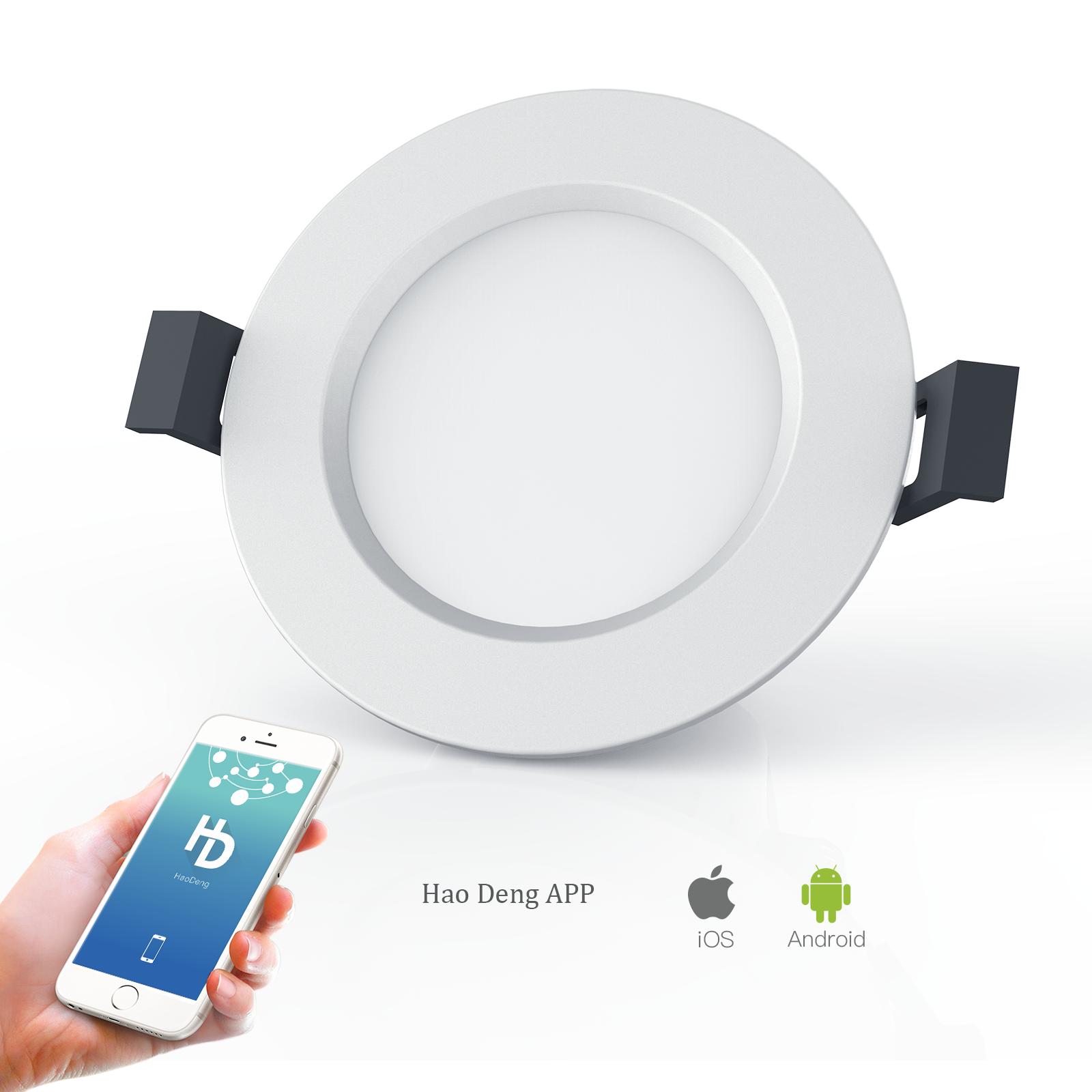 Factory smart home bluetooth Mesh led <strong>downlight</strong> 5w RGB bulb light