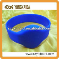 Logo Printed Band Smart NFC Wristband Rfid Bracelet