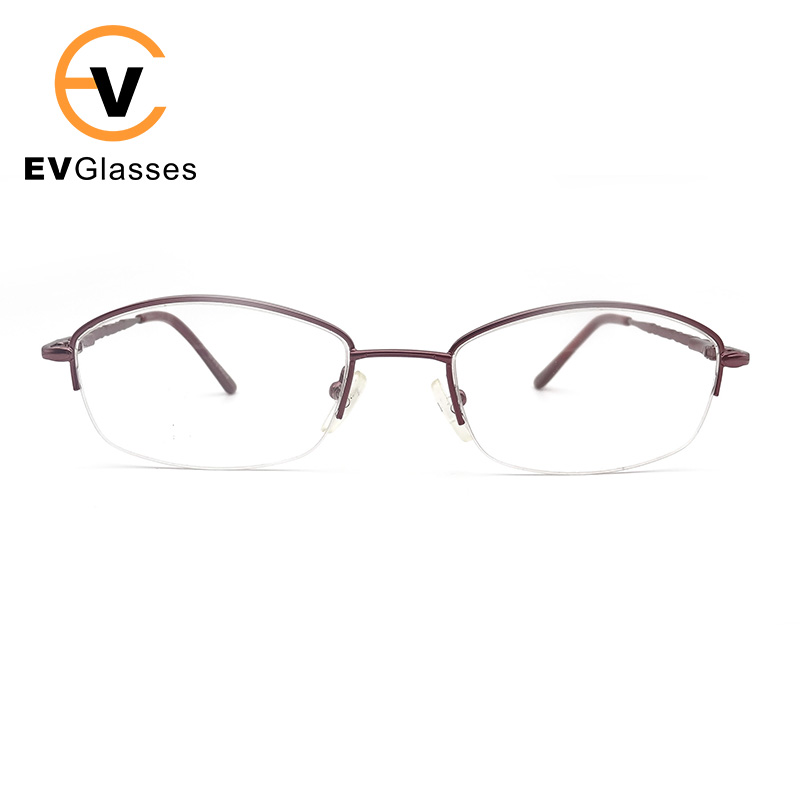 fashion Transparent glasses frame 2017 Retro metal women and man Eyewear Accessories