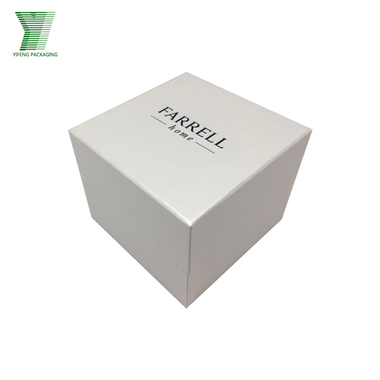 Custom Cardboard Book Shaped White Paper Box Wholesale hinged packaging gift box